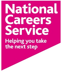 National Careers Service pink logo