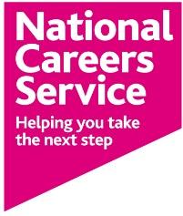 National Careers Service pink logo
