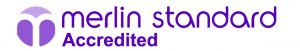 merlin standard accreditation logo