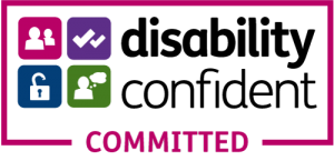 The Disability Confident Committed logo