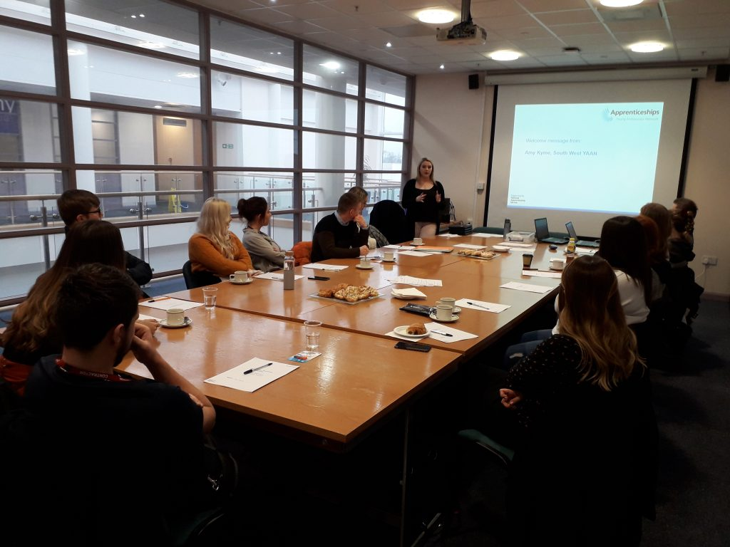 Young apprentice ambassadors train in Torbay